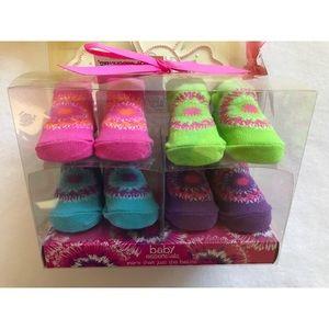 🆕 Baby Girls Socks Size 0-6 months.